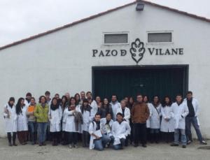 Pazo de Vilane recibe la visita de estudiantes de Veterinaria de Santiago