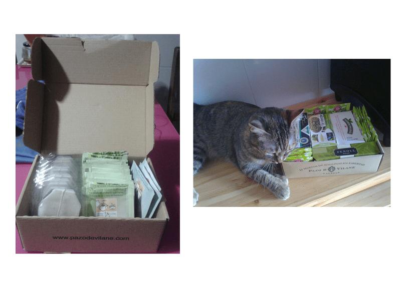 La caja de la gallinita protege los aromas y sabores de las infusiones