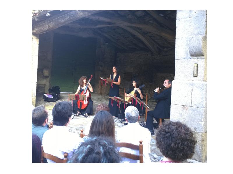 Noche de música y amigos en Pazo de Vilane