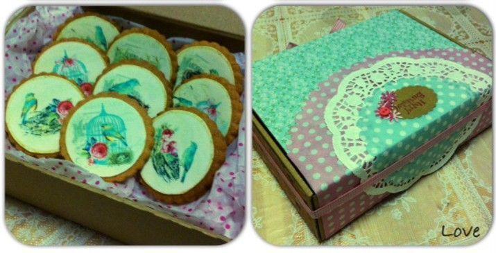Riquísimas galletas preparadas con huevo campero Pazo de Vilane