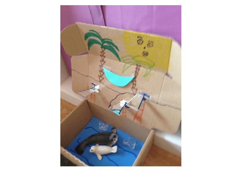 Ideas con la caja de la gallinita para los más pequeños (III)