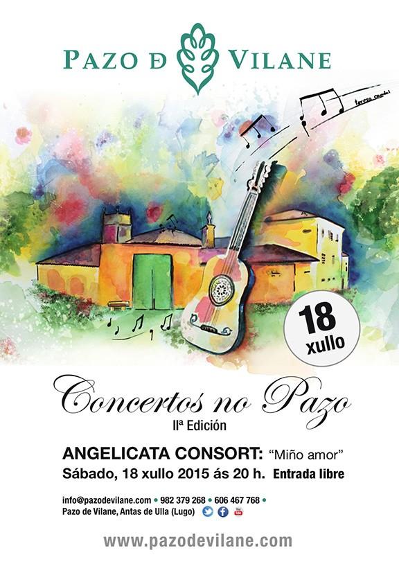 Sábado 18 de julio: música de evocación galaico – portuguesa para una noche de verano en Pazo de Vilane