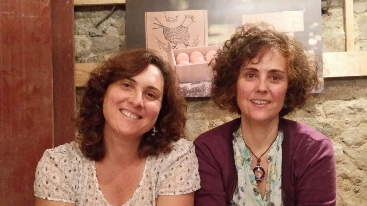 El huevo campero y las mermeladas Pazo de Vilane se convirtieron en los protagonistas del Mercado de la Cosecha