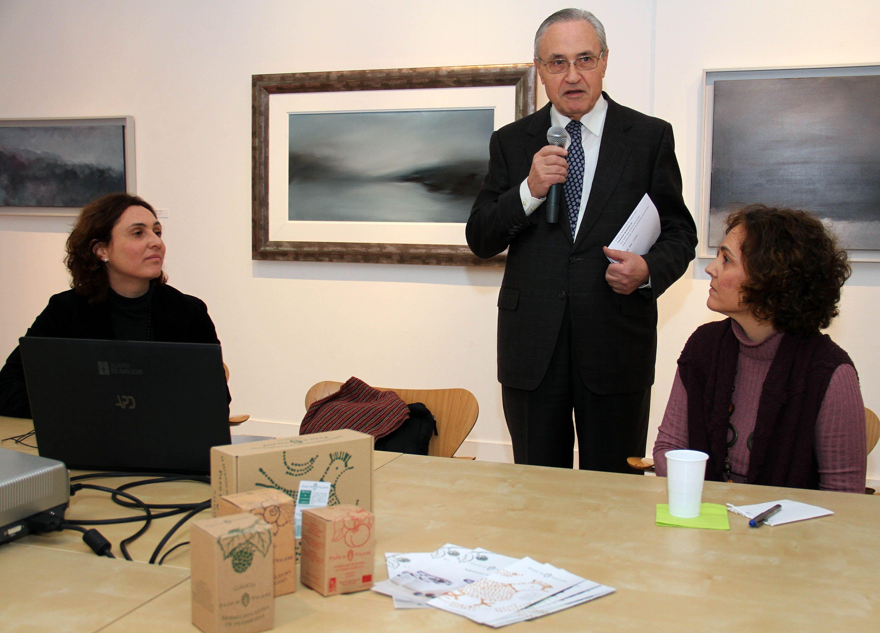Pazo de Vilane presenta su proyecto en la Casa de Galicia en Madrid
