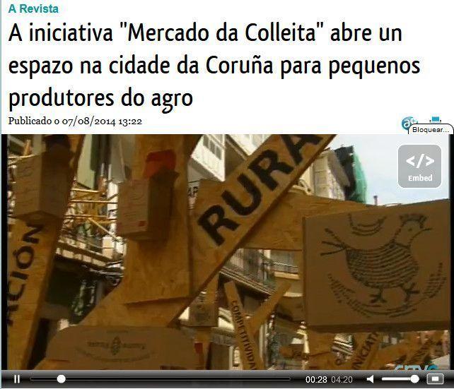 Pazo de Vilane en la TV de Galicia