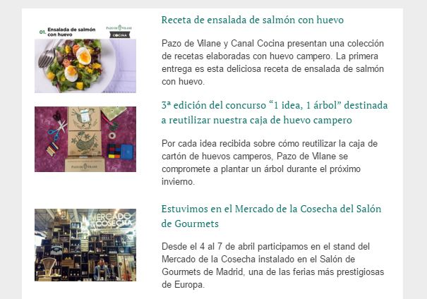 Estrenamos newsletter