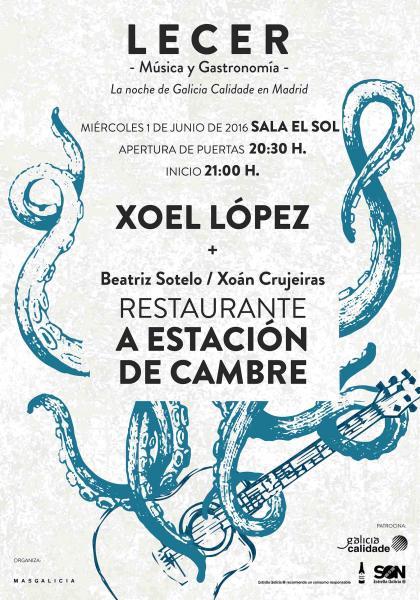 """Pazo de Vilane participa en """"Lecer"""", un evento que combina música y gastronomía en Madrid"""