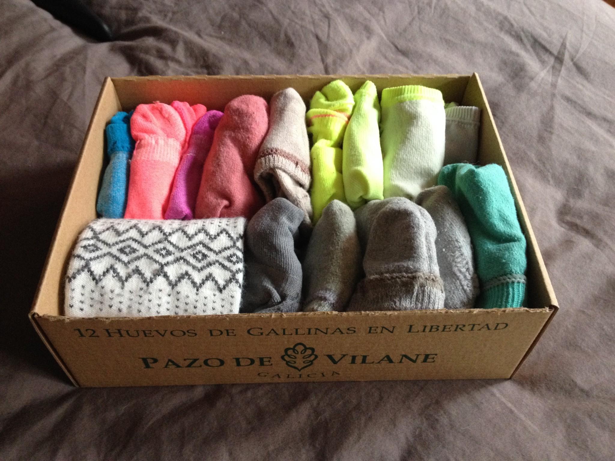 La caja de huevo campero Pazo de Vilane te ayuda a almacenar tu ropa interior