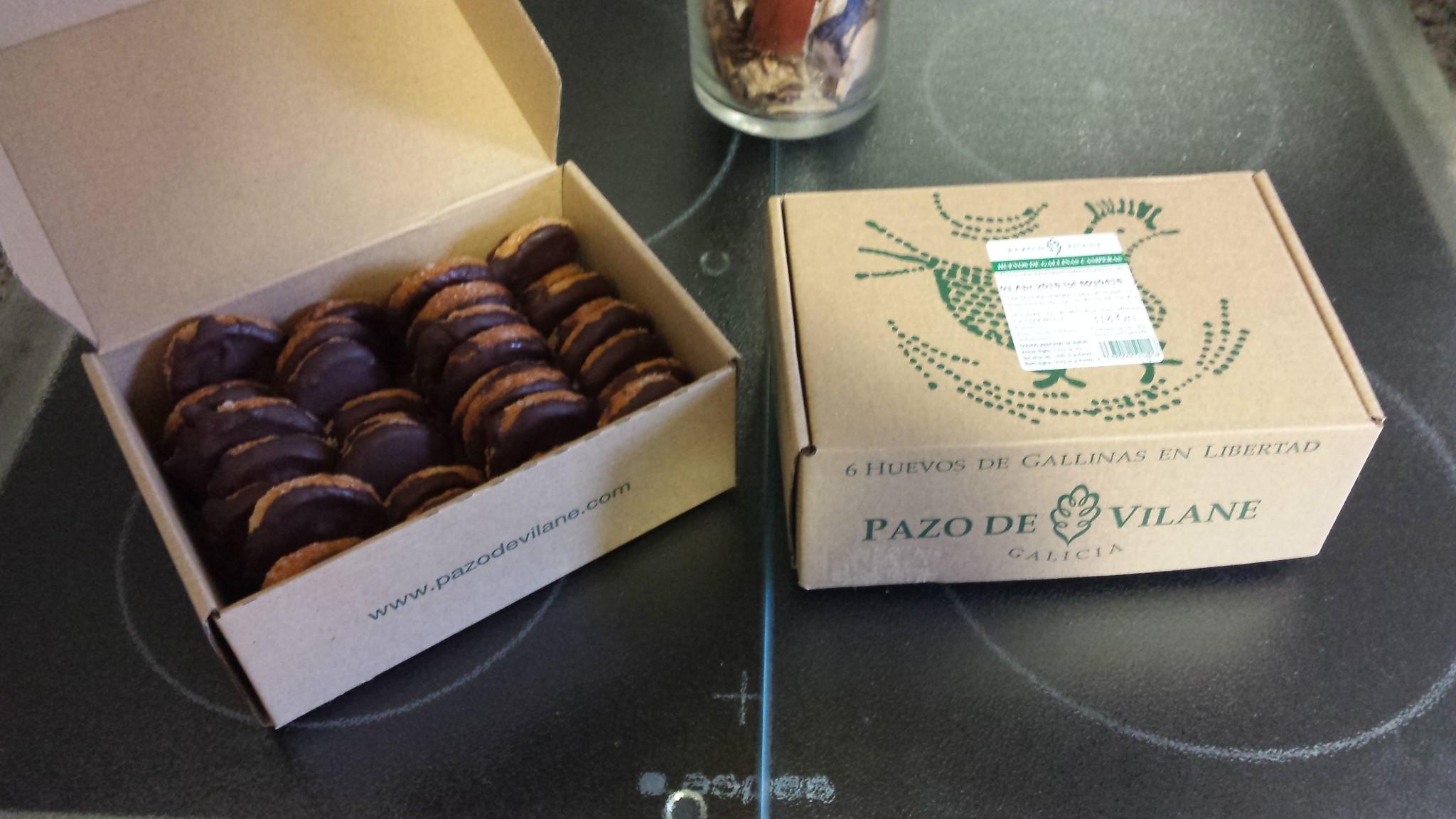 La caja de huevos camperos Pazo de Vilane regala los sabores más dulces