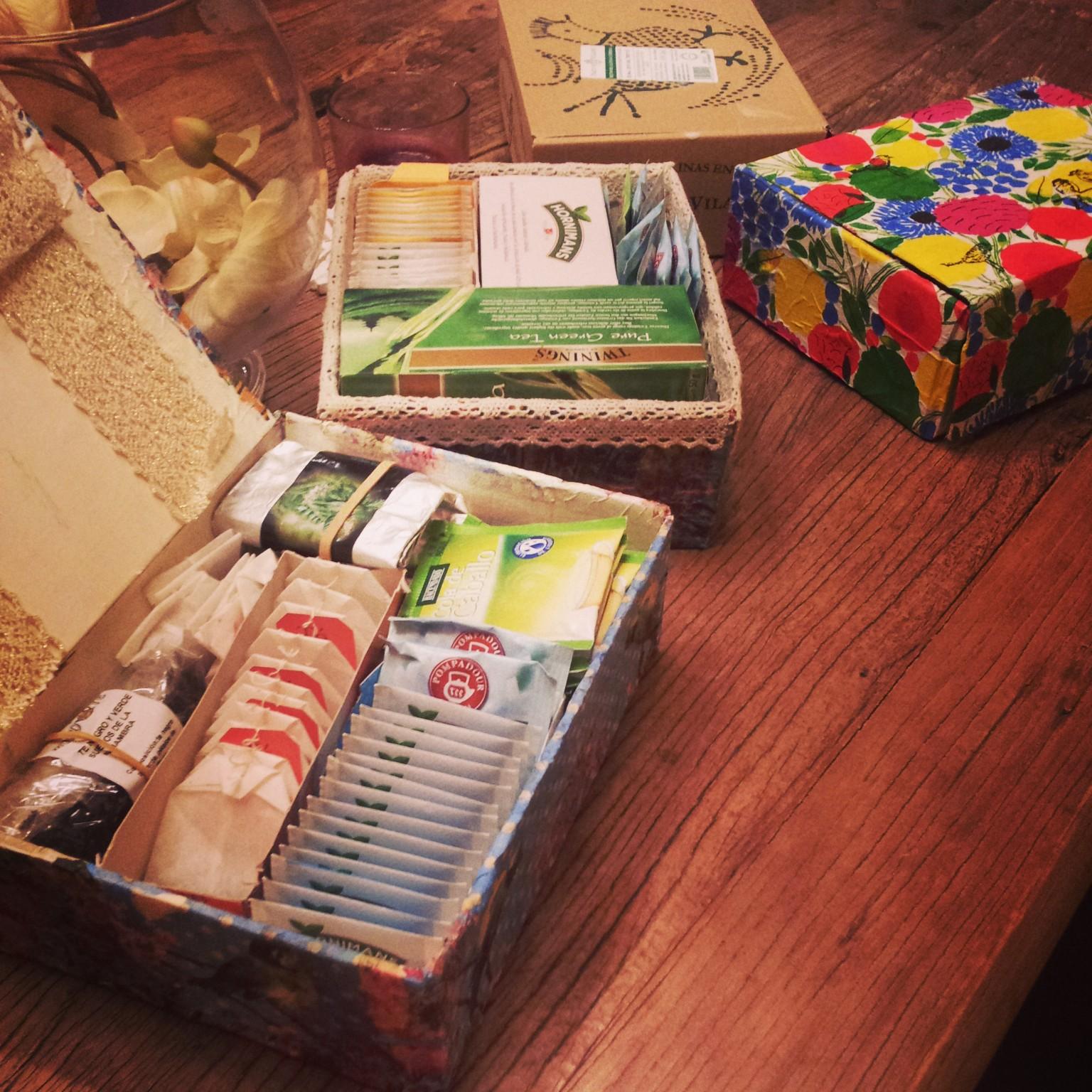 Almacena tus infusiones en la caja de huevos camperos Pazo de Vilane