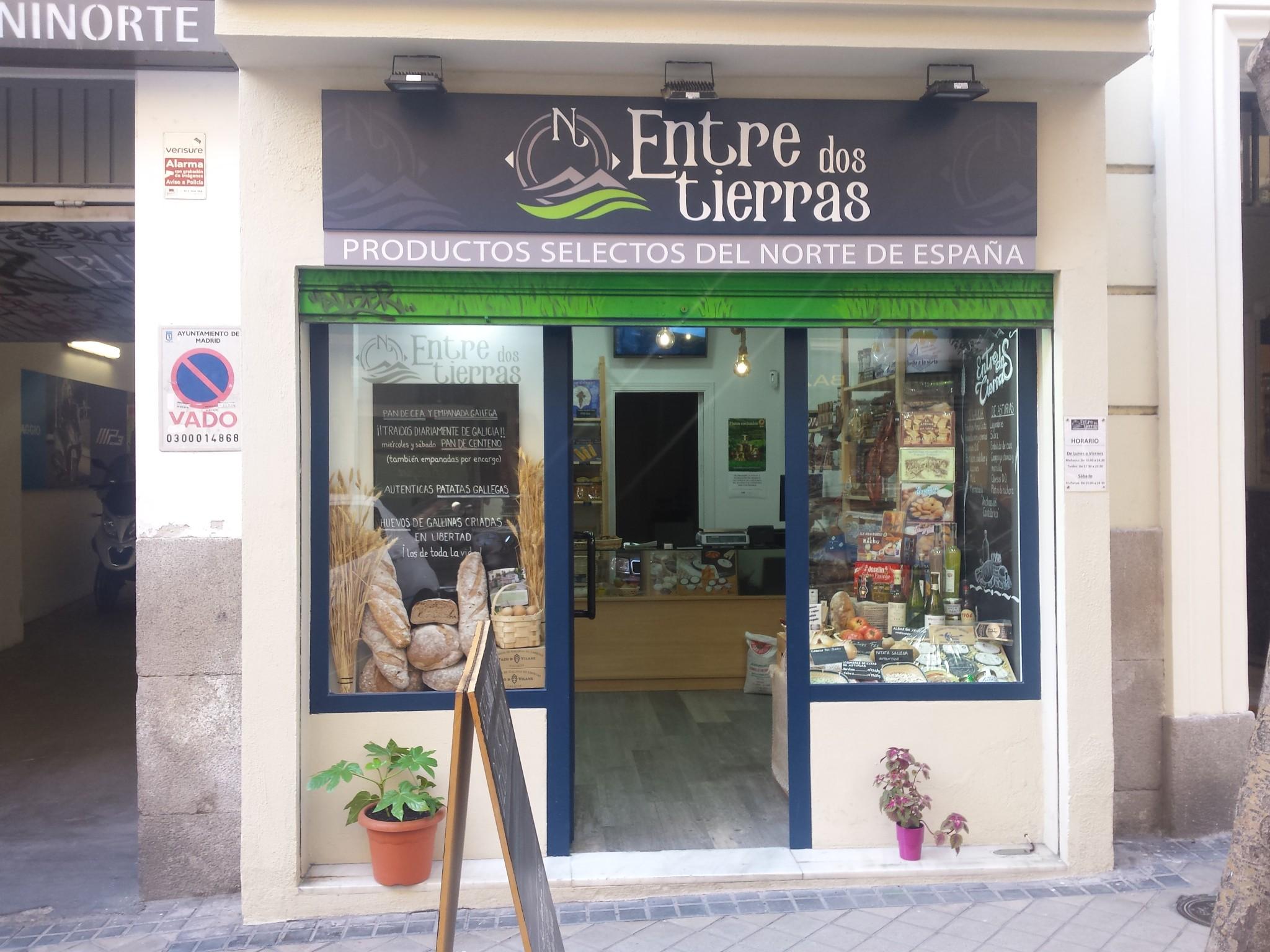 La gama completa de productos Pazo de Vilane en pleno barrio de Salamanca