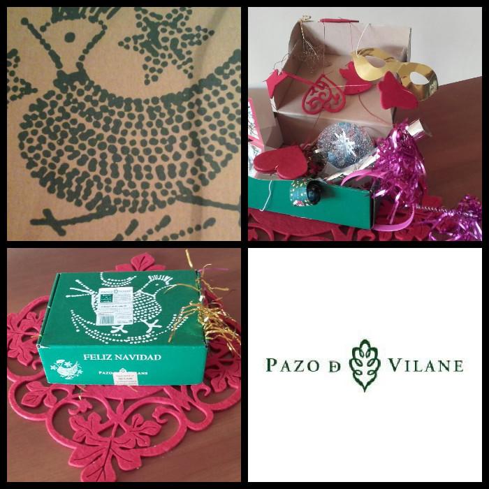 Personaliza la caja de cotillón de Nochevieja con Pazo de Vilane