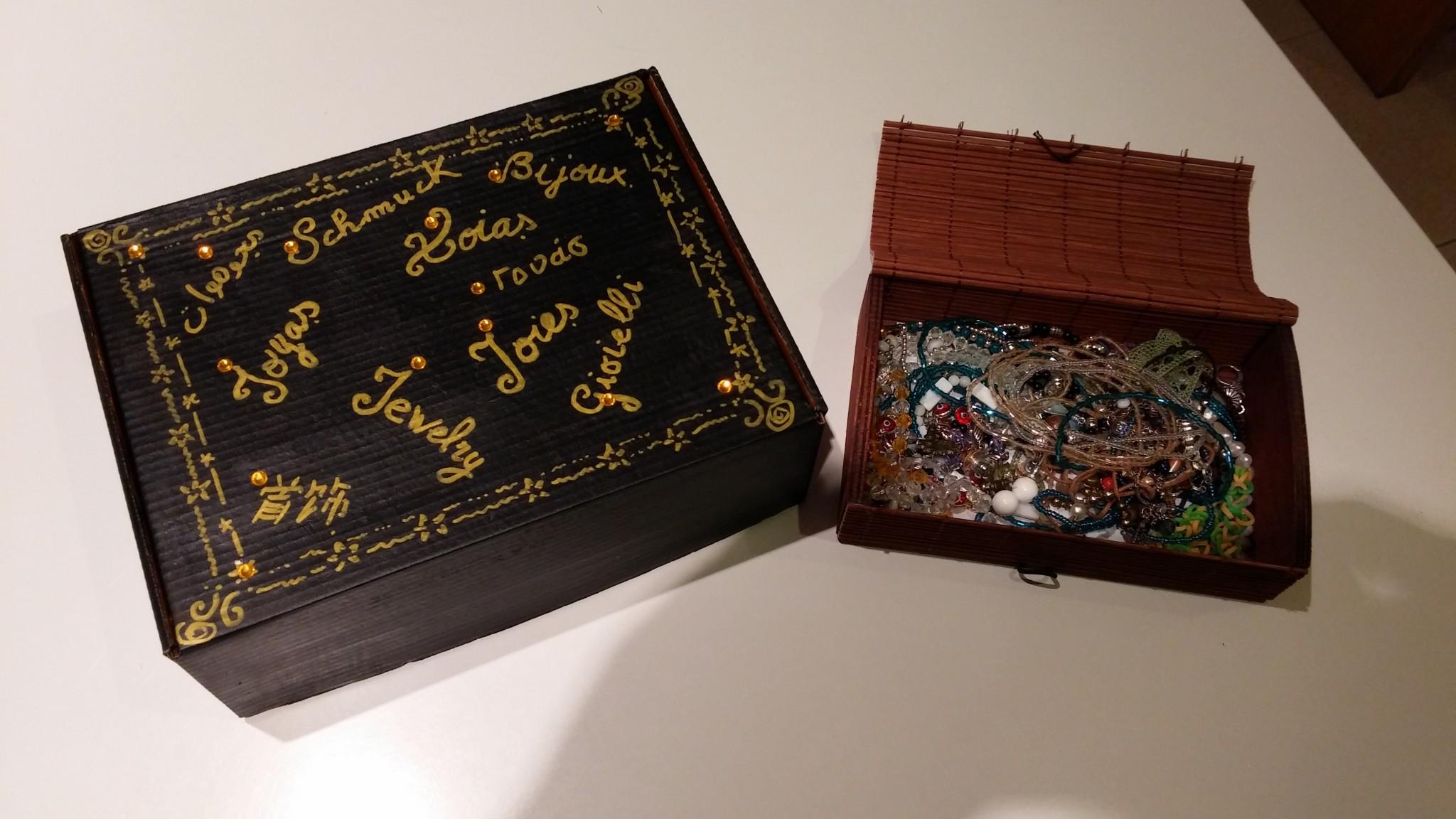 Crea un joyero de viaje con la caja de huevo campero Pazo de Vilane