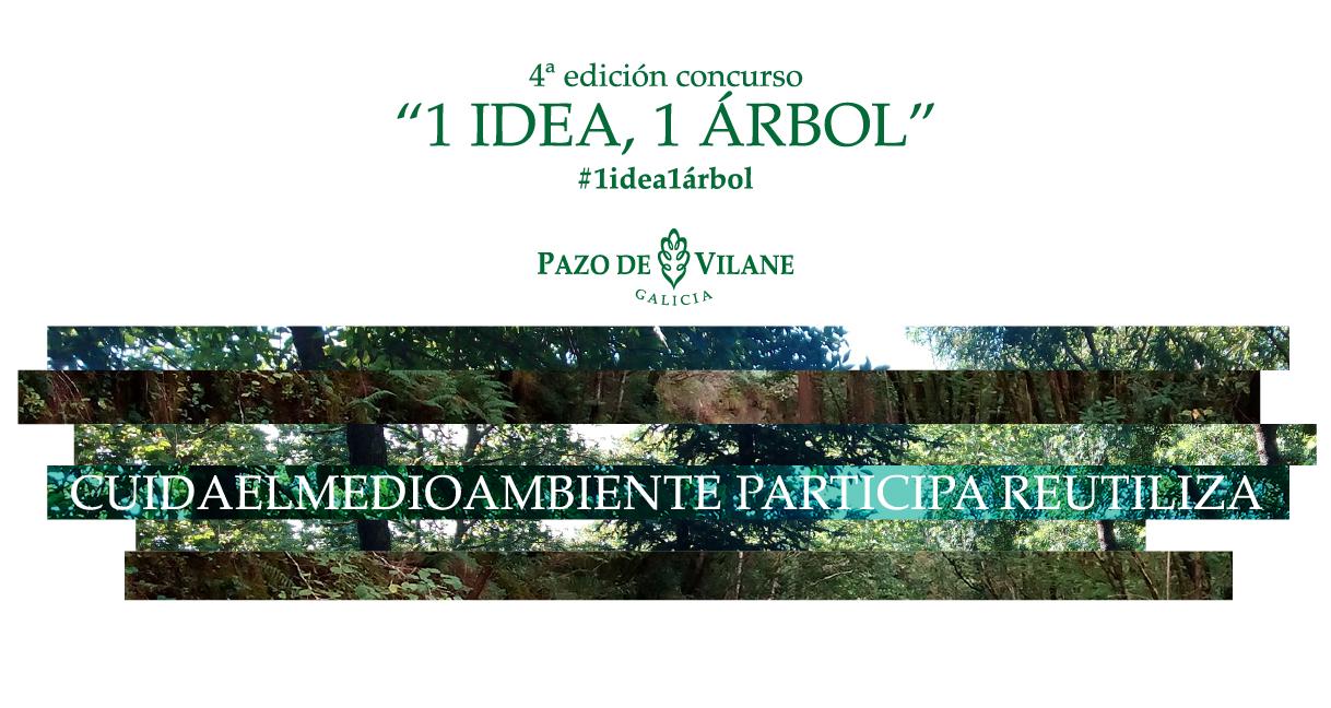 Arranca la 4º edición del concurso 1 idea, 1 árbol