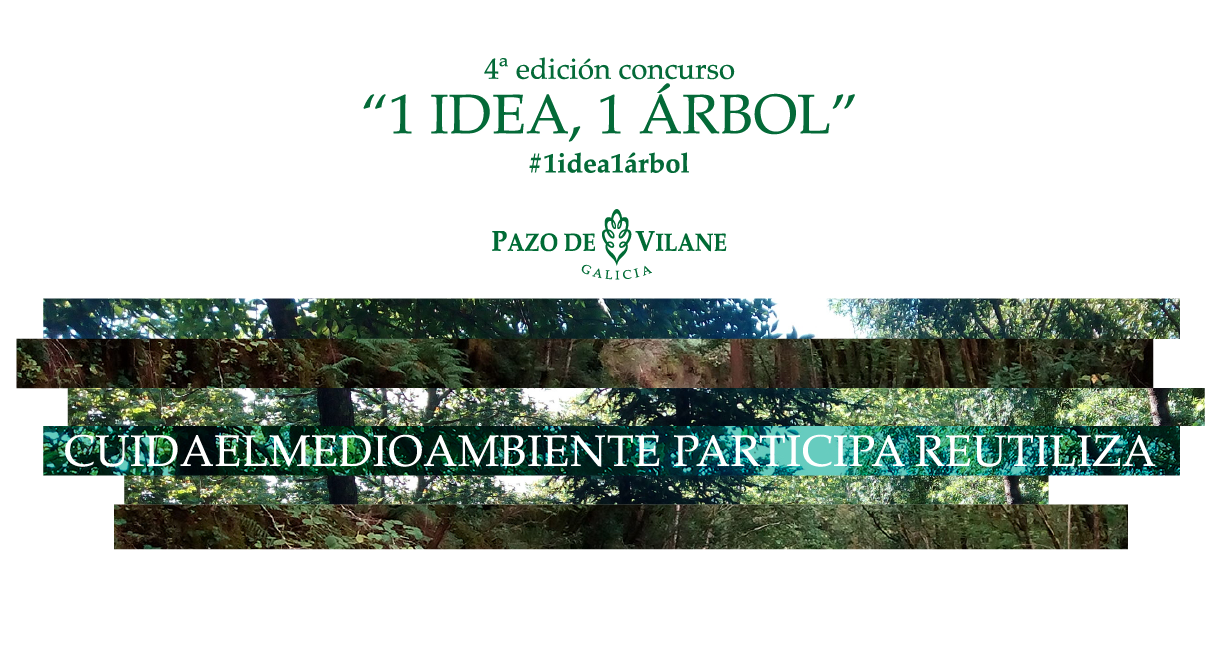 Arranca a 4ª edición do concurso 1 idea , 1 árbol
