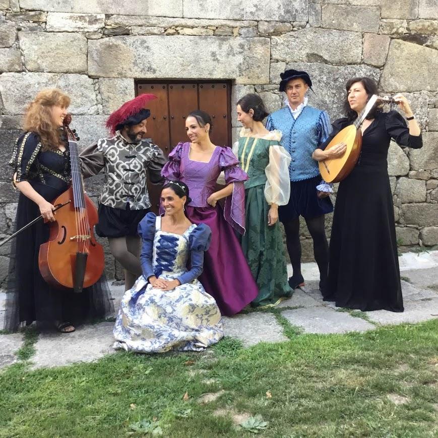 El Pazo de Vilane acoge una comedia madrigalesca