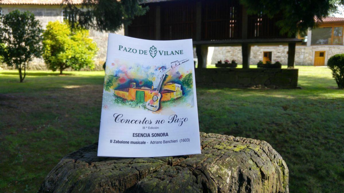 Anticipo de la 3ª edición de Concertos no Pazo:  Esencia Sonora interpreta Il Zabaione musicale