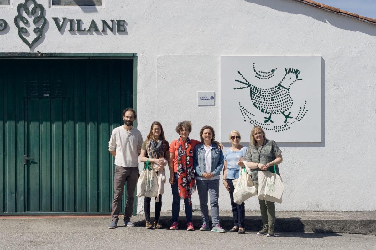 Pazo de Vilane recibe la visita de los ganadores de los concursos de recetas