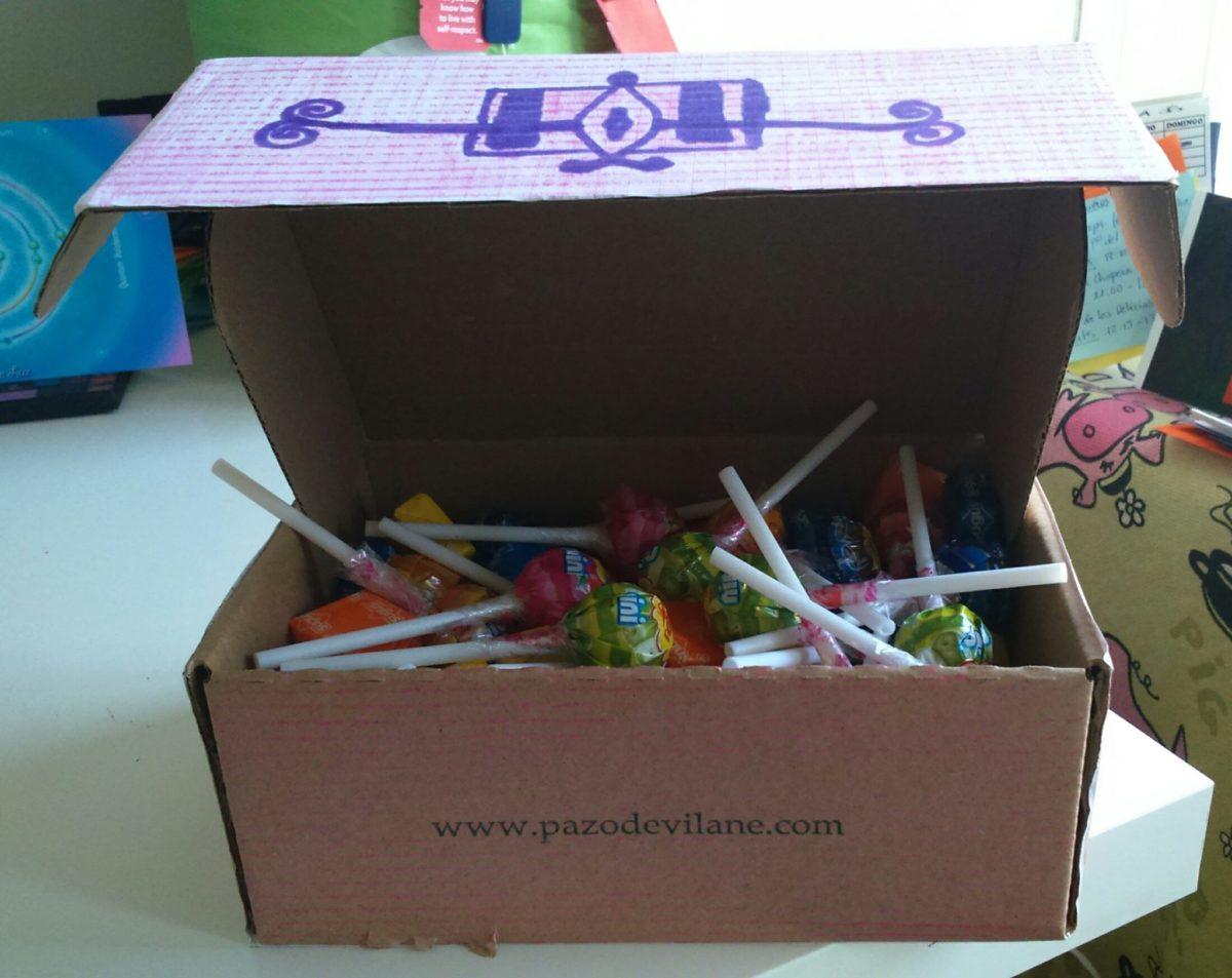 La caja más dulce para la noche más tenebrosa del año