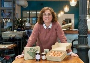 """Nuria Varela-Portas: """"Era difícil, pero hemos innovado con el huevo"""""""