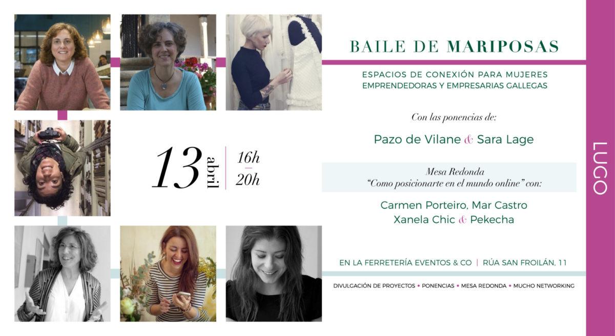 Pazo de Vilane participa en el evento organizado por Baile de mariposas
