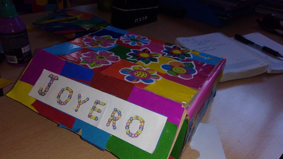Alumnas y alumnos de 3º de primaria de un colegio de Sevilla crean un joyero