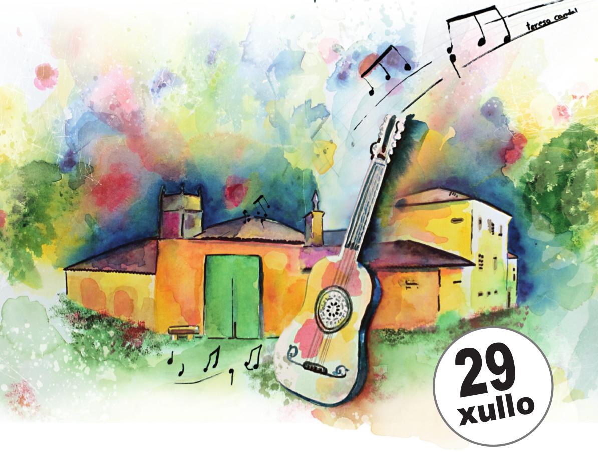 29 de julio:  Concierto de Esencia Sonora en el Pazo de Vilane