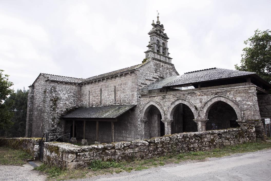San Salvador de Vilar de Donas; unha ventá á historia de Galicia a uns minutos de Pazo de Vilane