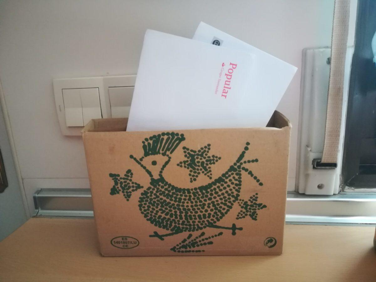 Construye un buzón con la caja de huevos camperos Pazo de Vilane