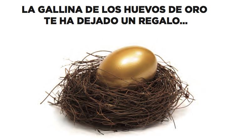 """Vuelve al Pazo de Vilane """"La gallina de los huevos de oro"""""""