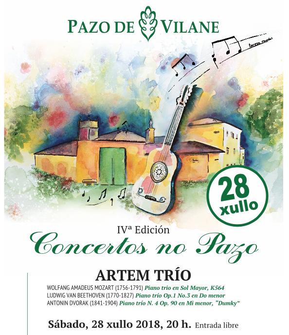 «Concertos no pazo» acerca la actividad artística al rural y dota de sentido a los espacios arquitectónicos del pazo