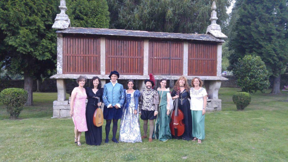 Concertos no Pazo nace de la vocación de dinamizar el rural y llevar la música a la comarca de la Ulloa.