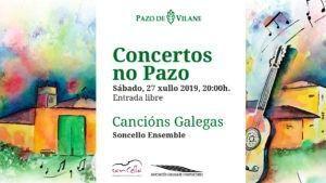 27 de julio: V edición de Concertos no pazo