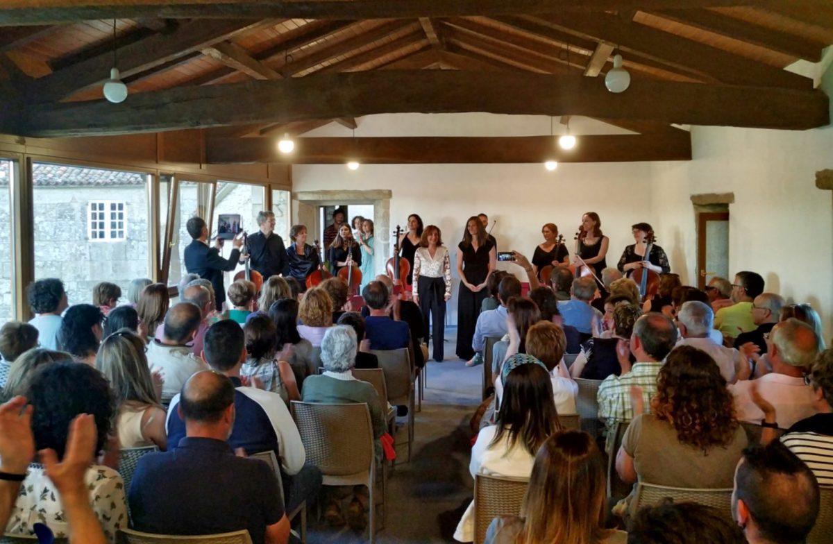 Cancións Galegas: conmovedor concierto en el Pazo de Vilane