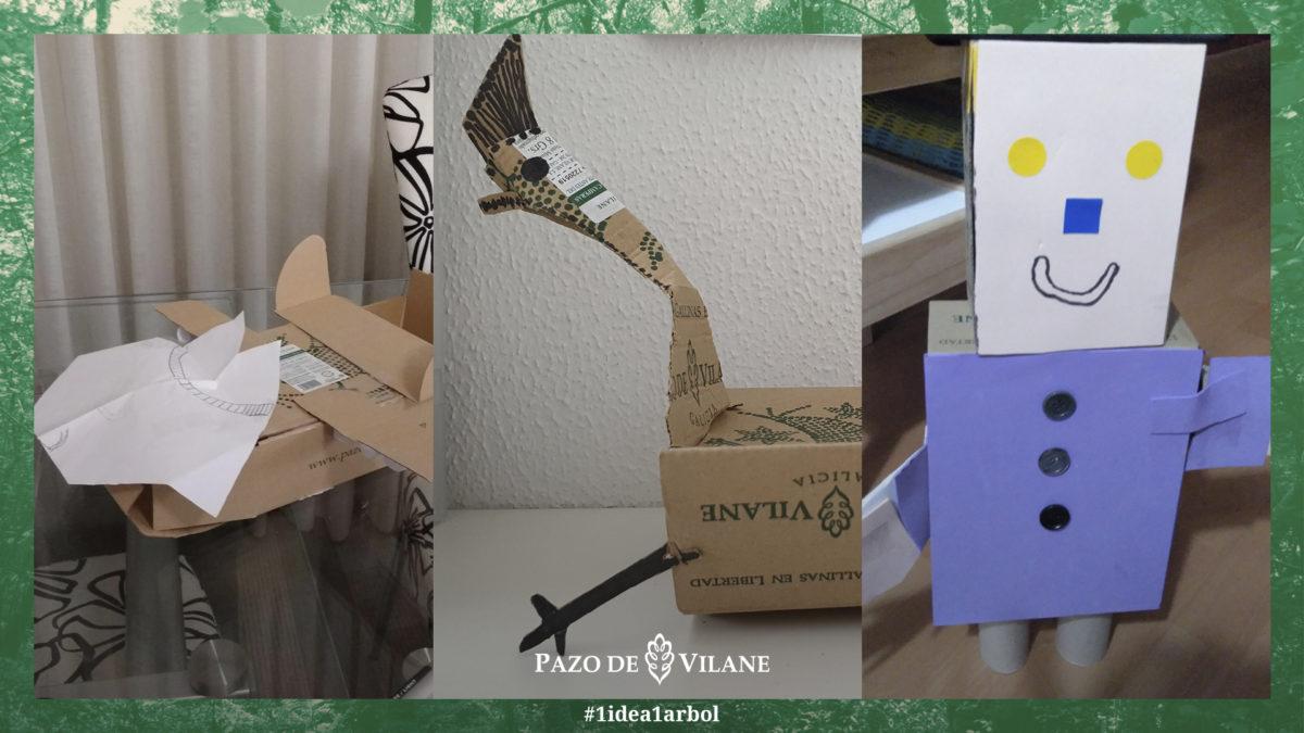 Juegos sin fin con la caja de Pazo de Vilane