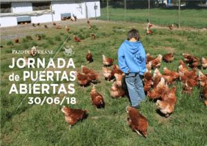 30 de junio: jornada de puertas abiertas en Pazo de Vilane