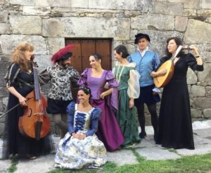 Il zabaione musical: actuación de Esencia Sonora en el Pazo de Vilane