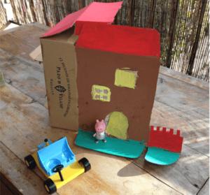 Ideas con la caja de la gallinita para los más pequeños (I)
