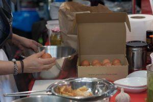 Huevos camperos perfectos. Tortilla perfecta.