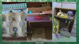 Un cuento inquietante… creado con la caja de huevo campero