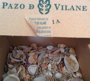 La caja de huevos camperos Pazo de Vilane custodia tus recuerdos