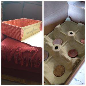 Lo mejor para ahorrar: crear una hucha con la caja de huevos camperos Pazo de Vilane