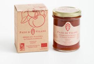 La mermelada ecológica de tomate Pazo de Vilane ya está disponible en el Corte Inglés e Hipercor