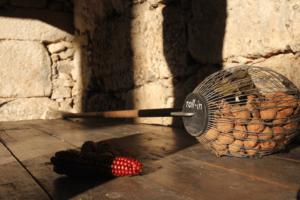 Tiempo de nueces, castañas y frambuesas en Pazo de Vilane