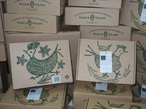 Pazo de Vilane te invita a reutilizar la caja de la gallinita
