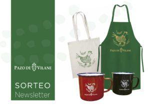 Pazo de Vilane regala 20 lotes integrados por dos tazas, un delantal y una bolsa de algodón