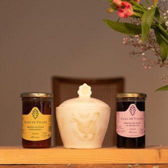 Pack cerámica y mermeladas