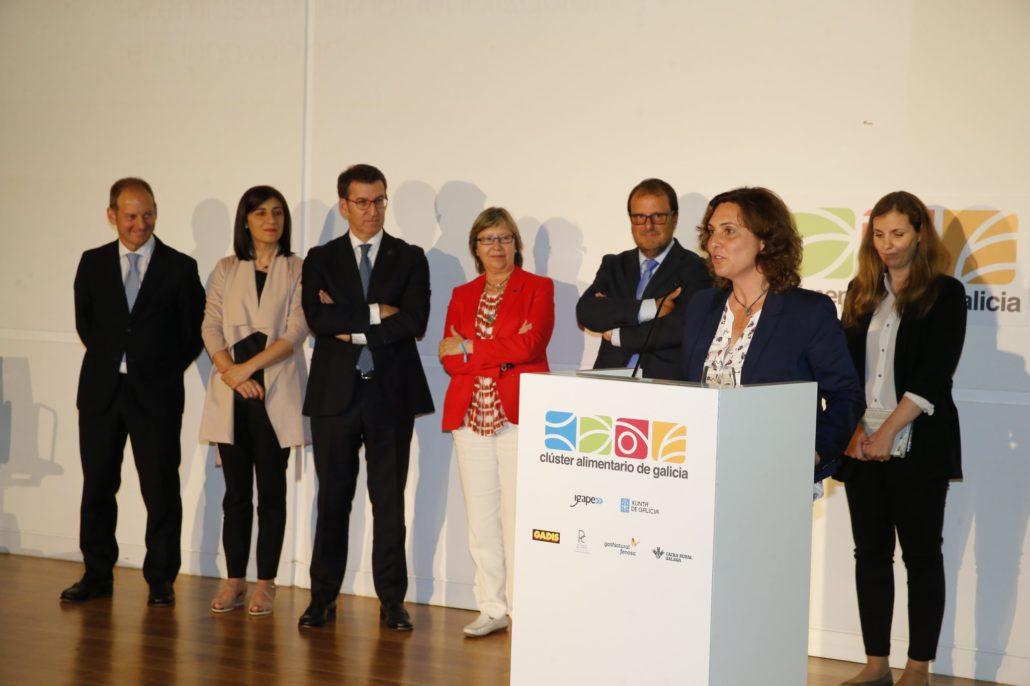 Nuria Varela-Portas, directora general de Pazo de Vilane, recoge el Premio al Mejor proyecto empresarial.