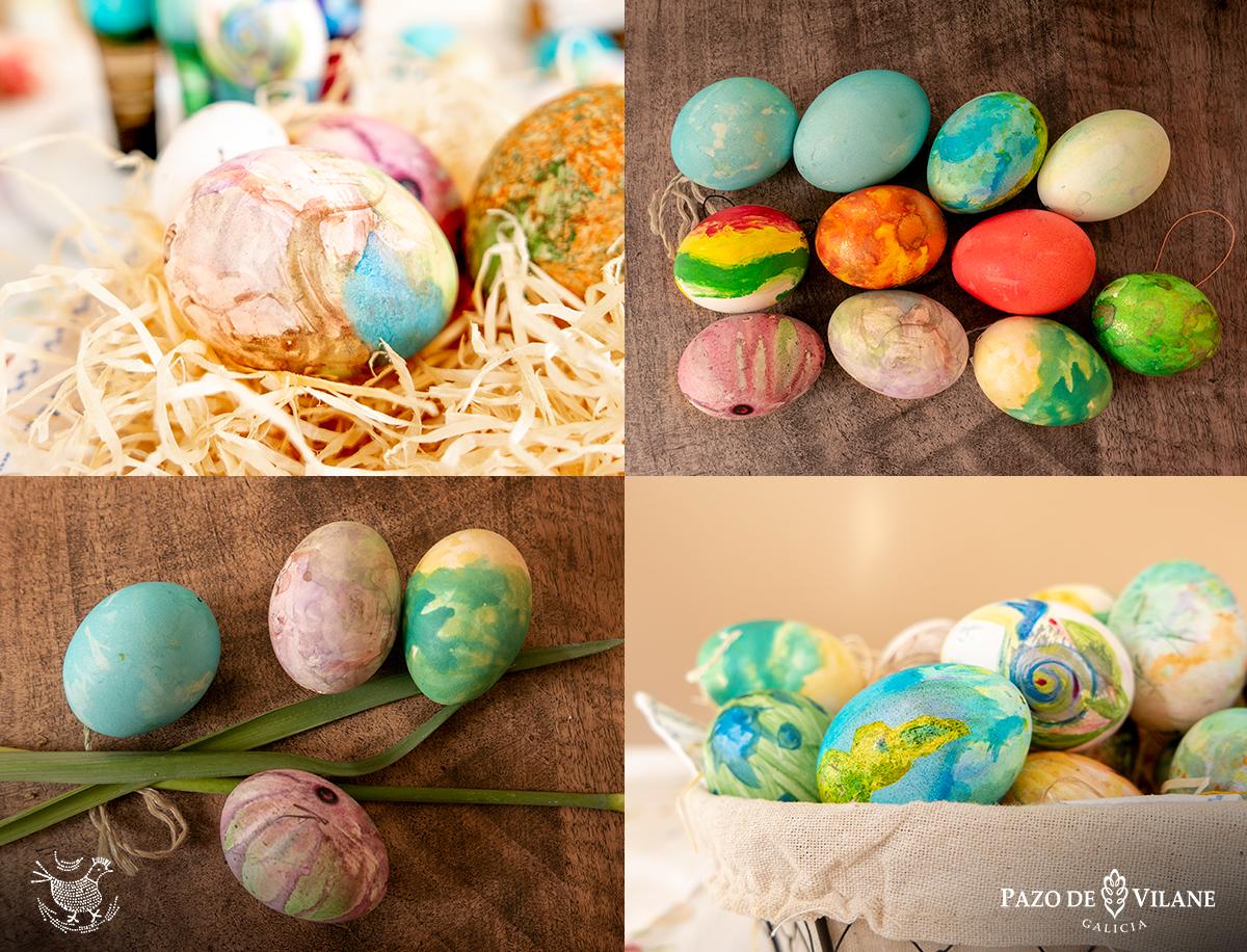 Manualidades con cascas de ovos para pasar a corentena