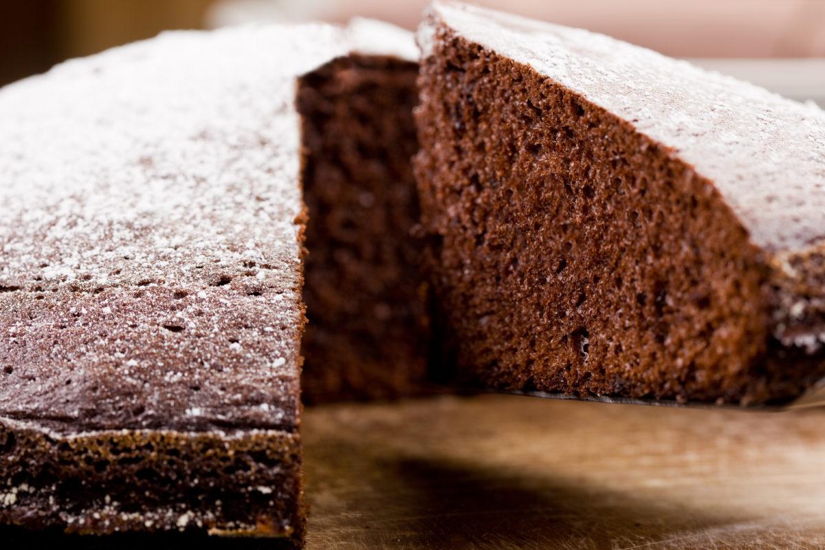Receta bizcocho de chocolate de Pazo de Vilane